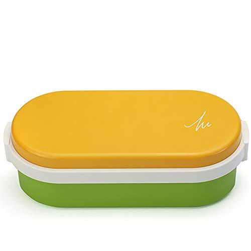 ジェルクール(Gel-Cool) ランチバッグ マンゴーイエロー×アスパラガスグリーン 容量: 900ml #908