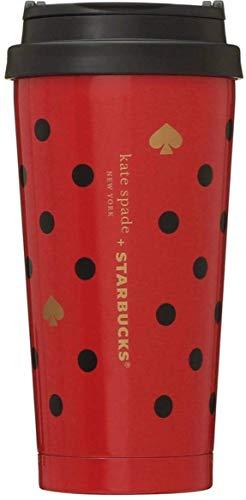 Starbucks ステンレスタンブラー Kate Spade ポルカドッツ 473ml スタバ ケイトスペード スターバックス