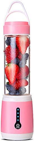 GPWDSN Tragbare Mixer, Personal Größe Blender Für Smoothies Shakes, Klingen Sechs 3D Für Superb Mixing USB Rchargeable Juicer Cup 480ML Leistungsstarke Hand Fruit Mixer-Maschine