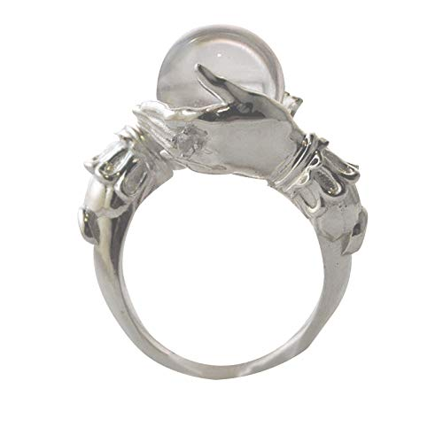 New Jewelry Style Ring In Hand Lovers Personality Ring Ornaments F