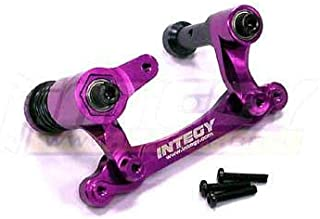 Integy RC Model Hop-ups T6988PURPLE Steering Bell Crank for Savage XL, Flux & X 4.6 RTR