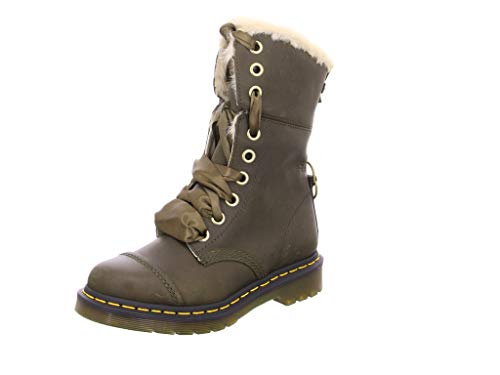 Dr. Martens Aimilita FL Rapture DMS Olive Wyoming UK 8 (US Women's 10)