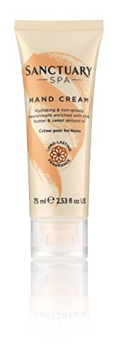 Sanctuary Spa Hand Cream with Shea Butter, Vegan and Cruelty Free, 75 ml