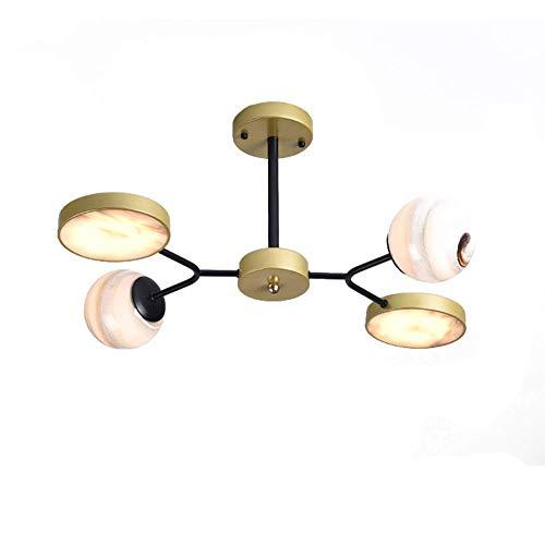 Lámpara de araña LED Sputnik, lámpara de techo semi empotrada moderna, lámpara colgante de metal Nordic G9 para cocina, sala de estar, dormitorio, comedor