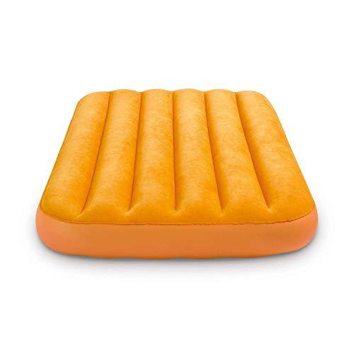Intex Kinder Luftmatratze Luftbett Gästebett 157 x 88 x 18 cm orange ohne Kissen
