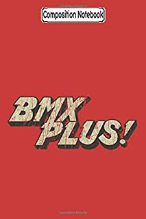 Composition Notebook: BMX Plus! Magazine Bmx - Journal/Notebook Blank Lined Ruled 6x9 100 Pages