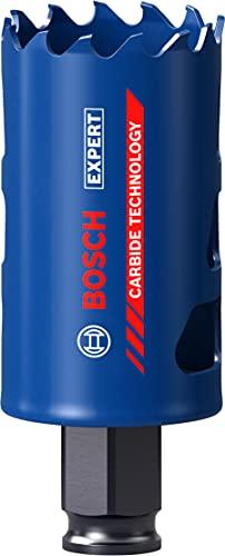 Bosch Professional 1 x Sierras de corona Expert Tough Material, para Madera con metal, 40 mm, Accesorios Taladro de impacto rotativo