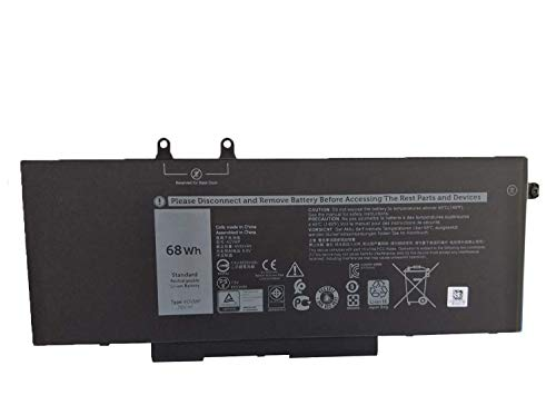 Onlyguo 7.6V 68Wh 8500mAh 4GVMP 9JRYT RF7WM X77XY C5GV2 1V1XF R8D7N Laptop Battery Replacement for DELL Latitude 5400 E5400 5500 E5500 Precision M3540 Series Notebook