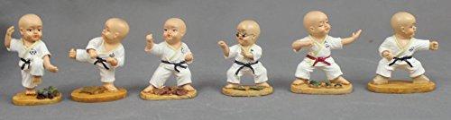 S.B.J - Sportland Figuren Set bestehend aus 6 Kampfsportfiguren