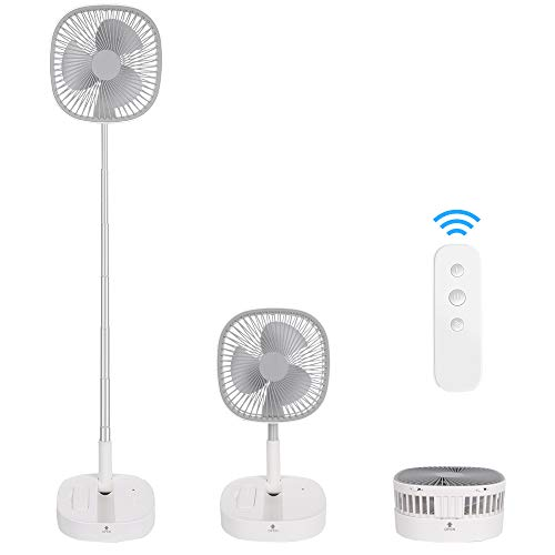 Portable Pedestal Fan - Outdoor Standing Fans...