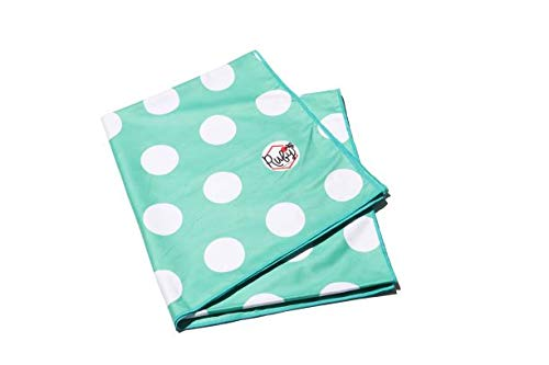Ruby Street Retail Extra Large, Sand-Free, Quick-Dry, Microfiber Beach Towel 78X35 (Mint Green)