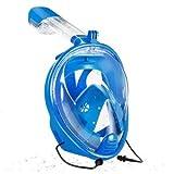 Juantin Store Swimming Snorkel Set Diving Mask Underwater Swimming Snorkel Mask Full Face Anti Fog Set for Gopro Camera-Swim mask-Russian Federation-L/XL