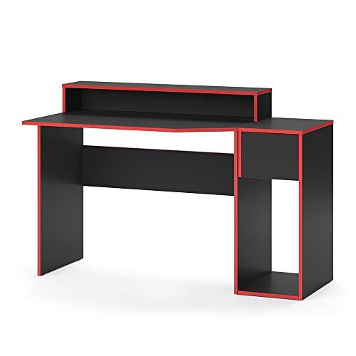 Vicco Gaming Desk Schreibtisch Kron Gamer PC Tisch Computertisch Bürotisch (Set 2)