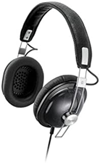 Panasonic RP-HTX7PP-K Retro Style Monitor Headphones -Black (Discontinued by Manufacturer)