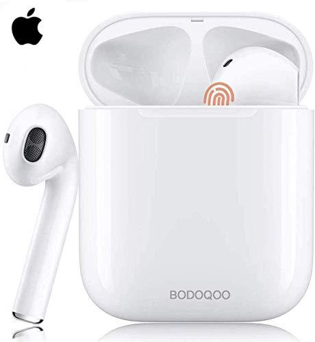 Bluetooth-Kopfhörer 5.0, kabellose Touch-Kopfhörer HiFi-Kopfhörer In-Ear-Kopfhörer Rauschunterdrückungskopfhörer,Tragbare Sport-Bluetooth-Funkkopfhörer,Für Airpods/Android/IOS/Samsung