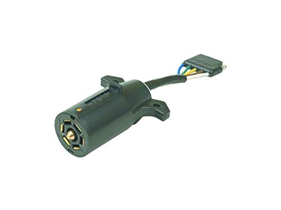 POLLAK 12-718EP Adapter 7 Rv to 5-Way Flat