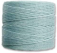 S-Lon Beading Cord - Turquoise 77yd Per Stallings Outlet SALE 35% OFF Spool By S