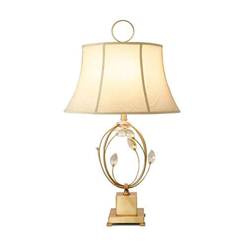 Yxx max - Lampada da tavolo retrò in ferro battuto decorativo, lampada da tavolo, creativa, semplice, per ufficio, studio, camera da letto, lampada da comodino, lampada da tavolo decorativa