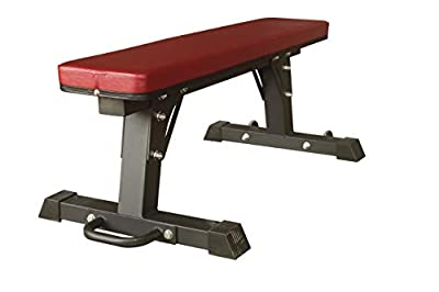 TTCZ Flat Weight Bench Heavy Duty Utility Bench for Multi-Purpose Weight Training and AB Exercises-1,800 lbs Capacity