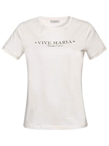 Vive Maria Vive Forever Shirt White, Größe:S