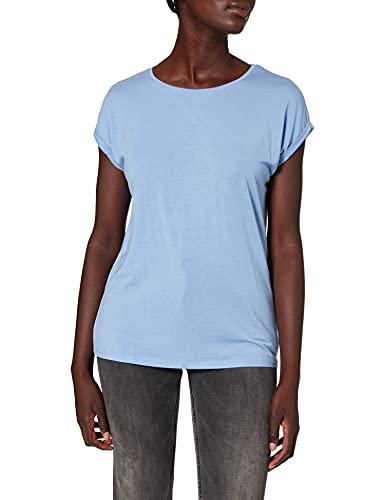 Vero Moda Vmava Plain SS Top Ga Noos Camiseta, Grapemist, L para Mujer