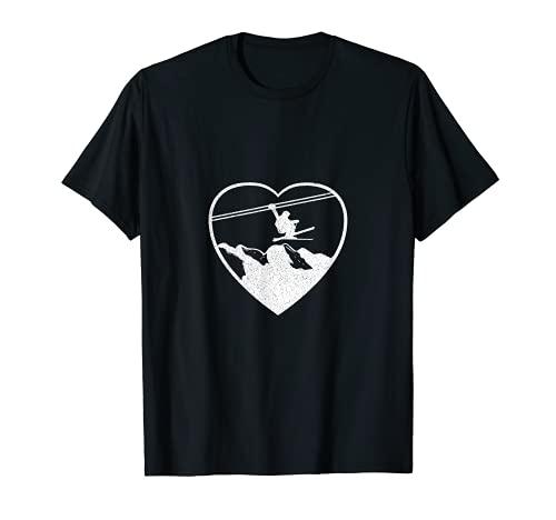 Esquí Esquí Backcountry Esquí en línea Esquí Telemark Noruega Camiseta