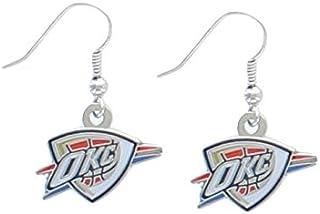 NBA Oklahoma City Thunder Logo Dangler Earrings
