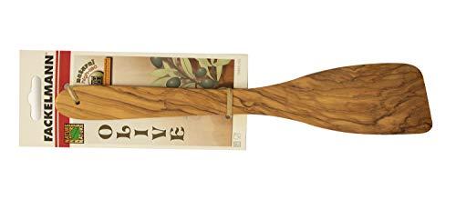 Fackelmann Pfannenwender 30 cm OLIVE, Wender aus Holz, Design- Küchenhelfer aus Oliven-Holz, robust und mit unverkennbarer Maserung (Farbe: Braun), Menge: 1 Stück - 2