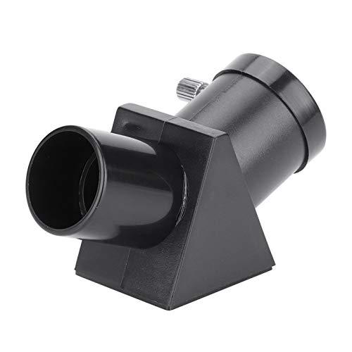 DAUERHAFT Prisma telescópico Totalmente Revestido 45 Grados Metal Negro 24,3 MM 0,96 Pulgadas para observación remota
