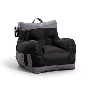 Big Joe Dorm 2.0 Beanbag Chair One Size Two Tone Black
