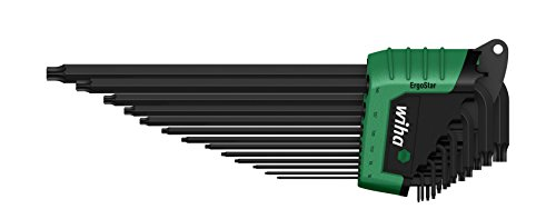 WIHA 36503 - Juego de llaves Allen en soporte ErgoStar 366RHZ13 ErgoStar Ref. 366RHZ13