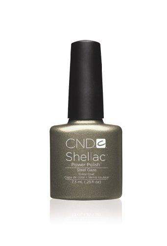 CND Shellac UV Gel Vernis - STEEL GAZE - Forbidden Collection Automne 2013