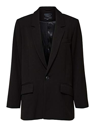 SELECTED FEMME Female Blazer Einreihiger 42Black