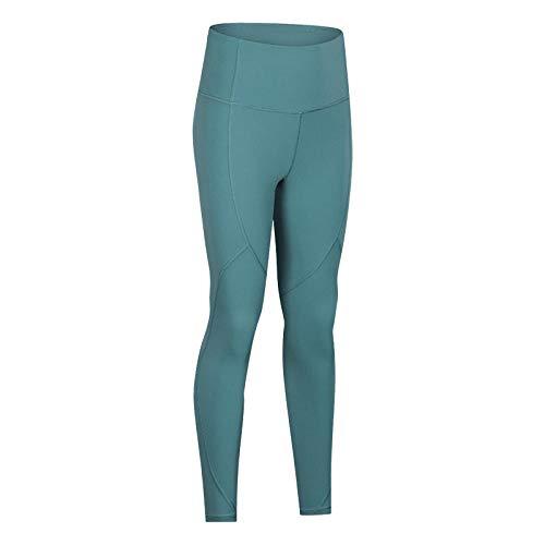 RRUI Panty voor dames Leggings voor dames Slim Fit Slim Line Yogabroek hoge taille Nieuwe Dames Loopsport Leggings broek negen punten broek bruin 6