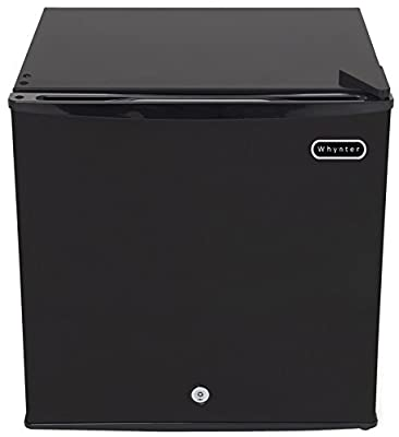 Whynter CUF-110B Energy Star 1.1 Cubic Feet Upright Freezer with Lock, Black (Renewed)