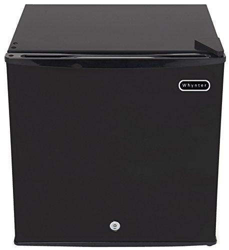 Whynter CUF-110B Energy Star 1.1 Cubic Feet Upright Freezer with Lock, Black (Renewed)