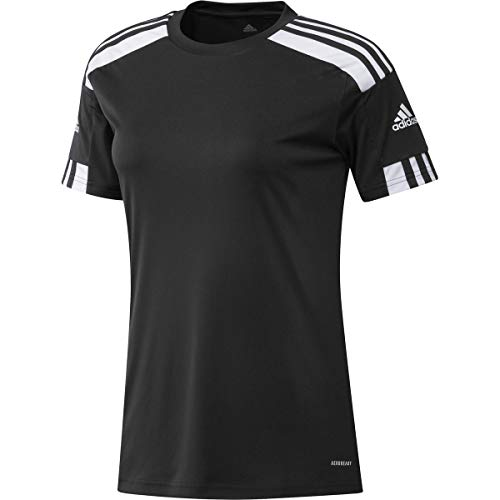 adidas Squad 21 JSY W Damen-T-Shirt L schwarz/weiß