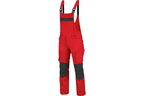 WÜRTH MODYF Cetus Arbeitslatzhose: Die hochwertige Arbeitslatzhose ist in der Größe 66 & in rot anthrazit erhältlich. Die elastischen Träger Sorgen für TOP
