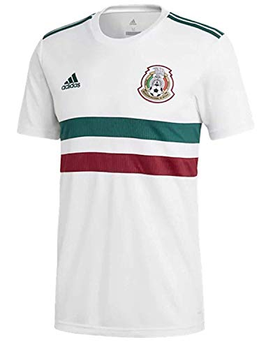 adidas Mexico Official Youth Away Soccer Jersey S/S World Cup Russia 2018 (L)