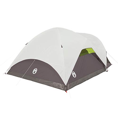 Coleman Steel Creek 6 Person Camping Tent With Screen Room