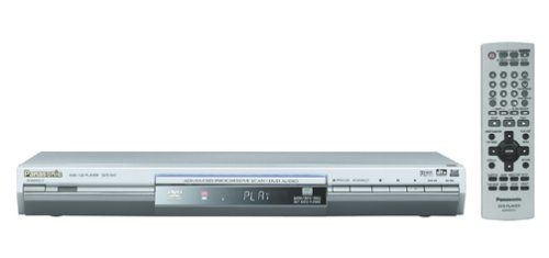 New Panasonic DVD-S47S Progressive Scan DVD Player
