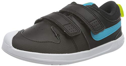 Nike Pico 5 (PSV), Zapatos de Tenis Unisex niños, Black Chlorine Blue High Voltage White, 33 EU