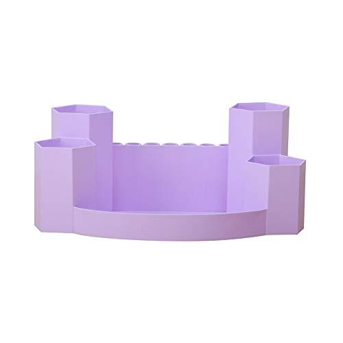 DKFS 1 Stück Kosmetische Aufbewahrungsbox Kunststoff Tischplatte Rautenförmigen Modeschmuck Fall Schminktisch Aufbewahrungstasche Kosmetik 1 27 * 15 * 11 cm