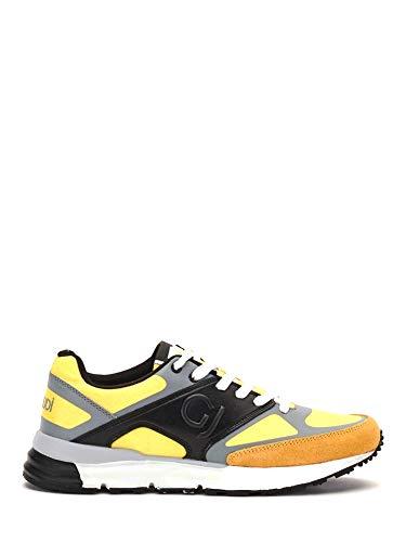 GAUDI' Sneaker in nylon e pelle scamosciata - 42