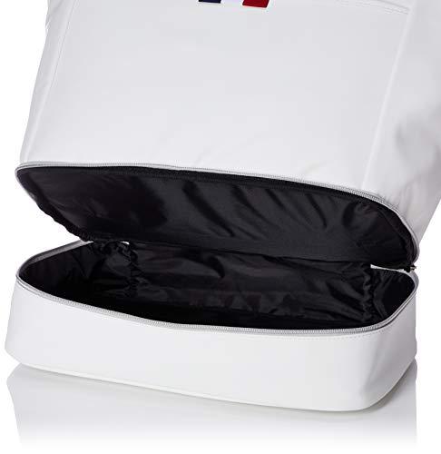 [ルコックスポルティフゴルフ]ボストンバッグキャディバッグQQCPJJ03とお揃いで持っていただきたいトートバッグです。2層式なのでWH00(ホワイト)