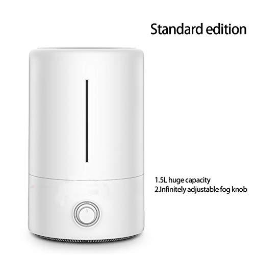 Yhz@ Humidificateur ménager chambre muette femme enceinte grande capacité chambre climatisée petite machine à aromathérapie Humidificateur (Couleur : Pearl white)