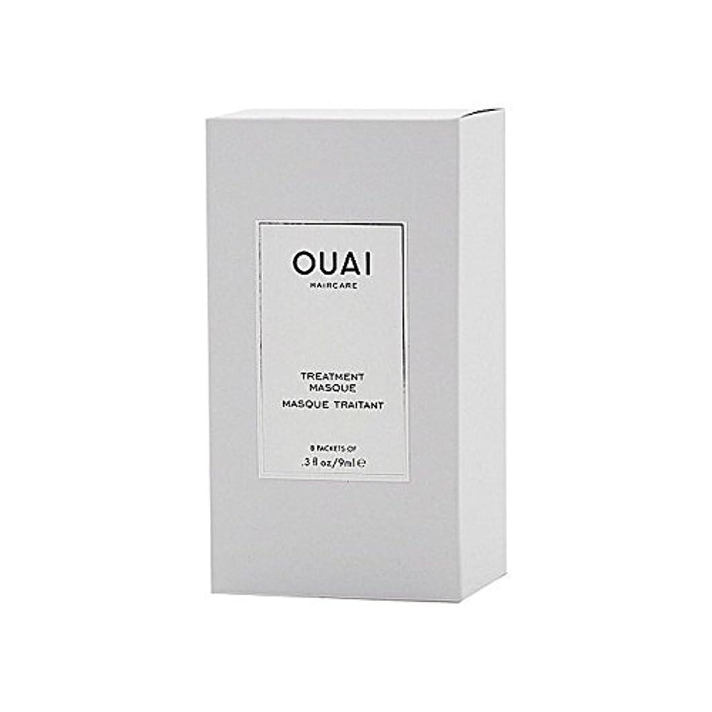 野菜作り上げる松トリートメントマスク8×9ミリリットル x2 - Ouai Treatment Masque 8 X 9ml (Pack of 2) [並行輸入品]