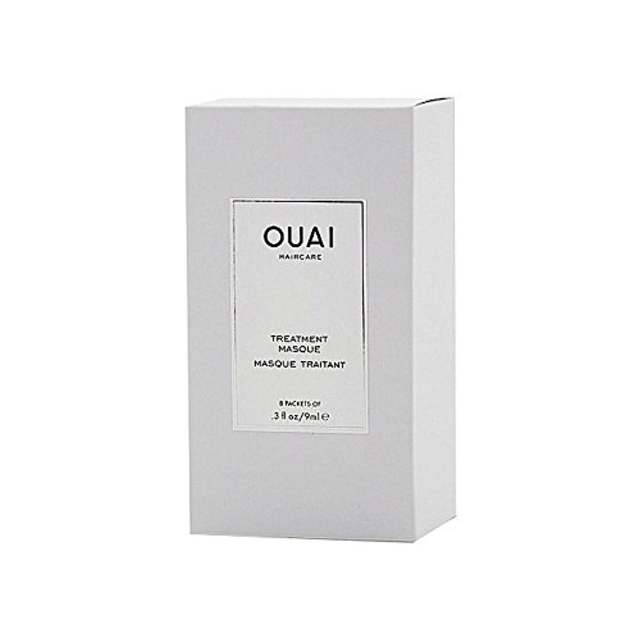 吸収エールオーチャードOuai Treatment Masque 8 X 9ml (Pack of 6) - トリートメントマスク8×9ミリリットル x6 [並行輸入品]