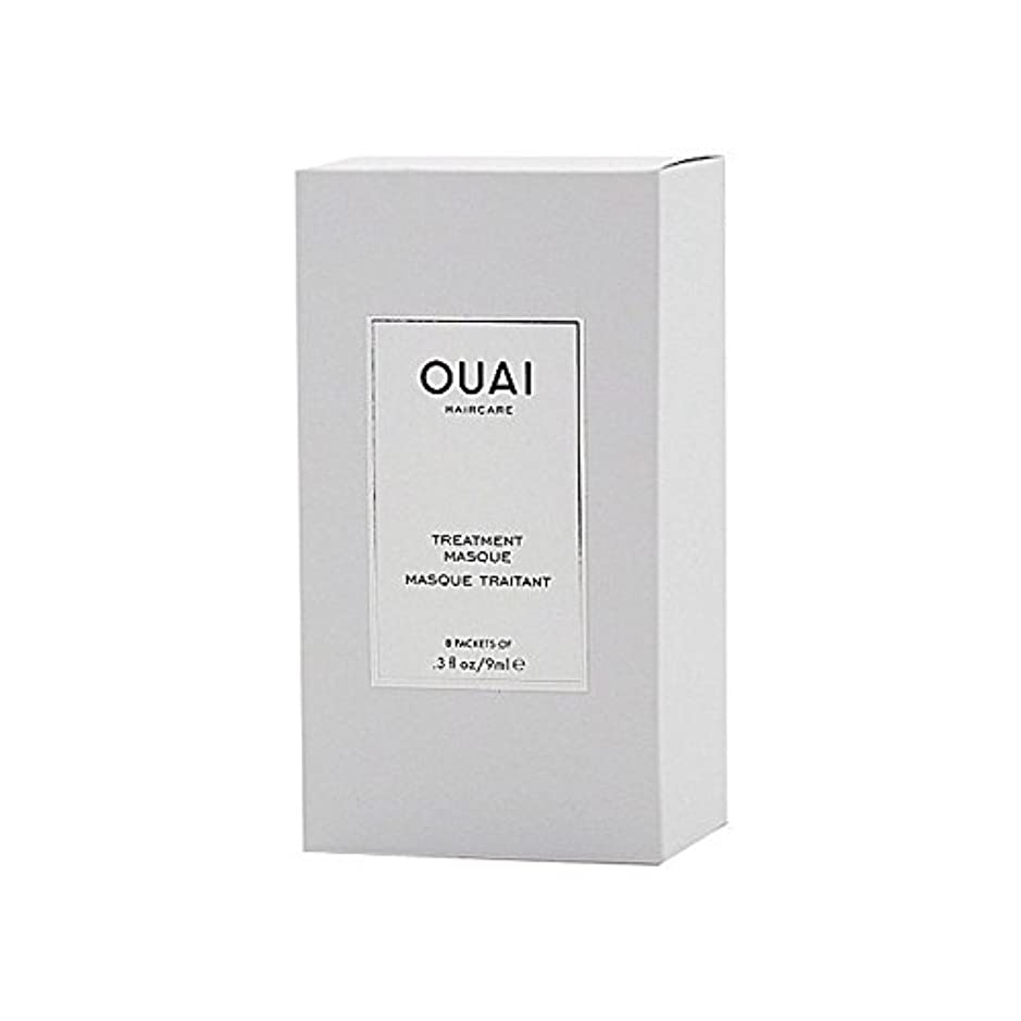 垂直地上のキラウエア山Ouai Treatment Masque 8 X 9ml - トリートメントマスク8×9ミリリットル [並行輸入品]