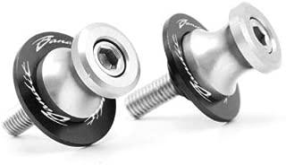 FidgetFidget 8mm CNC Motorcycle Screws Swingarm Sliders for Suzuki GSF 600/1200S/1200 Bandit SilverSilver